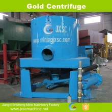 High efficiency gold centrifuge concentrator