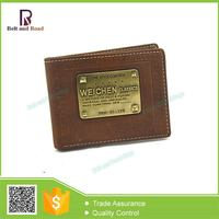 Welcome Wholesales First Grade litchi lines leather men wallet
