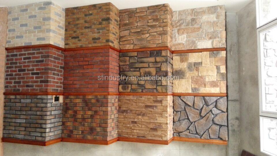 amazing de china al por mayor luz peso cultural de piedra artificial with piedra artificial para paredes - Piedra Artificial Decorativa