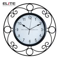 decorative antique reproduction french wall clock for living room
