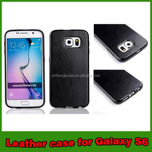 2015 New PU Phone Case for Cell Phone for Samsung Galaxy S6