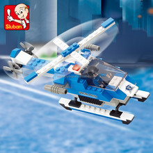 Best selling Sluban ABS plastic building blocks diy educational loz nano toy for boys