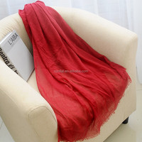 Fashion Autumn Long Polyester Voile Scarf