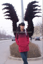 handmade adult black wings big demon wings large costume angel wings
