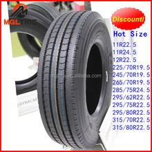 Popular for USA Market 295/75r22.5 truck tires for sale