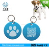 fashionable custom shape glitter blank dog pet id tag with excellent identification