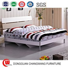 Modern minimalist bed E1 class environmental protection plate frame bed