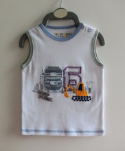 Baby Infant Clothing 100% Cotton Soft Cute Baby Vest, Baby Clothes