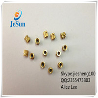 China factory custom plastic brass insert nuts+86 13537382696