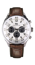 hot dual time zone sport chronograph business sr626sw quartz 316L stainless steel man multiple time zone wrist watches