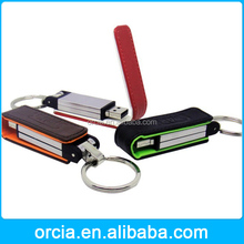 leather mini usb flash drive 128MB to 64GB with full capacity