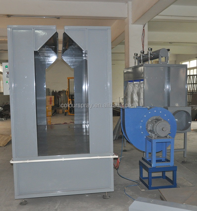 New product spraying booth spray paint booth powder for Powder coating paint booth