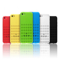 silicone gel phone cell cases with bright color for iphone 5c