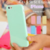 Candy Rubber Gel Tpu Case Cover for iphone 4 4s 5 5s 5c 6 6 plus