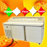 Refrigerated Pizza Prep Counter