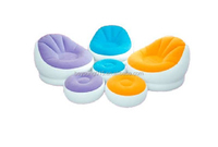 bedroom furniture intex 68572 inflatable chaise chair with ottoman