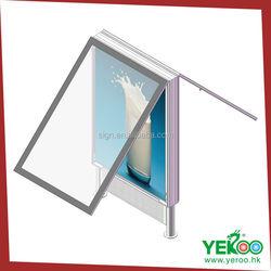 2015 new style advertising light box frame