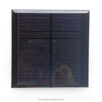 A-grade cell small solar pv module/mini solar panel epoxy resin solar panel epoxy panel 1W 95*95mm 5.5V