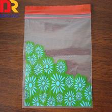 Cheap food storage poly Custom seal custom printed zipper bag