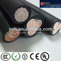 rubber sheathed marine cable