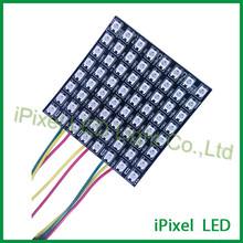 5050rgb square 8*8 led matrix display ws2812b