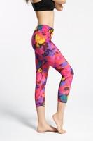 custom made sublimation women leggings yoga pants