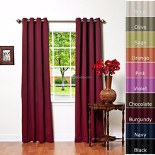Blackout grommet curtain panel, ready made blackout curtain
