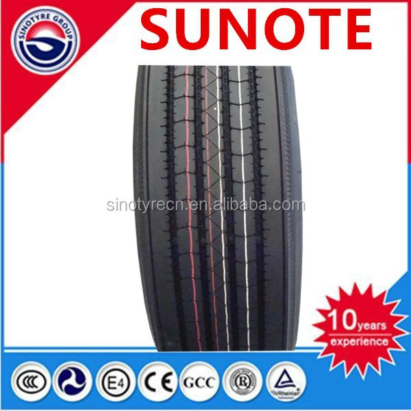 sunote tire Trade Assurance China heavy duty truck tyre 385/65R22.5 suitable for minning