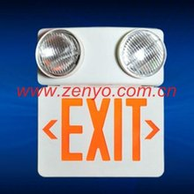 Exit and Safety Sign emergency lamp