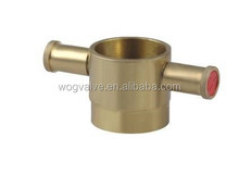 Brass John Morris Instantaneous Fire Hose Coupling Adaptor