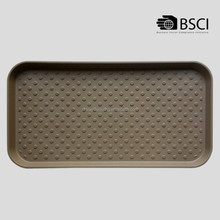 PP dog rubber tray for feeding water bowl