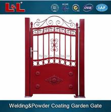 Aluminum Garden Gate, Outdoor Gate, Hotel Gate