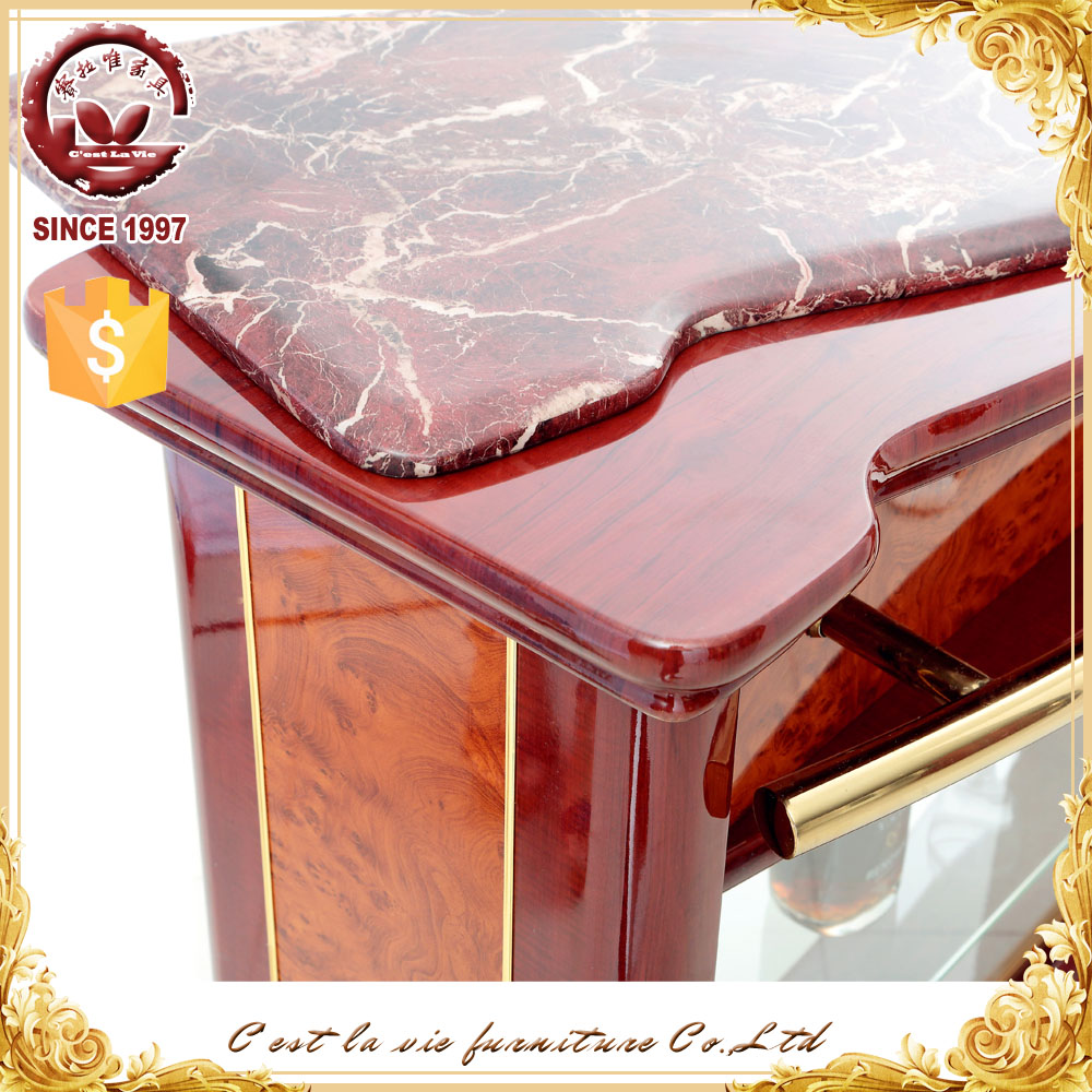 Restaurant wooden small modern home wooden bar counter - Wooden home bars for sale ...