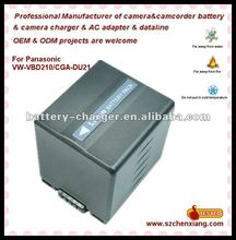 for Panasonic Cgr-Du21 Replacement Camcorder Battery 1650mAh (Replacement)