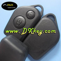 Without Logo 2 button remote car key cover (can't put blade) for citroen key citroen key cover