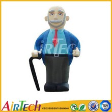 Oxford inflatable cartoon character for advertisement