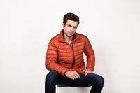 Custom european new style men goose down jacket for winters in north canada