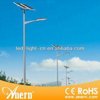 High stability 120W led light solar power kit, solar powered light for street