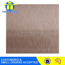 satin finish stainless steel sheet for kitchen wall protection