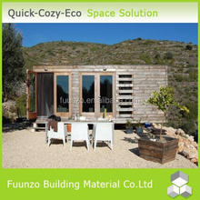 Plastic Wood Luxurious Prefab Villa Plan for Living