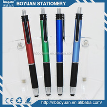 China manufacture plastic nice looking touch ball pen