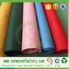 Colorful pp spunbond nonwoven fabrics for shopping bag material fabrica de textiles