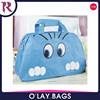 Wholesale Women Lady Cute Nylon Cat Print Travel Bags Duffle Sport Bags