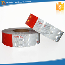 Red & White Reflective Conspicuity Tape dot-c2