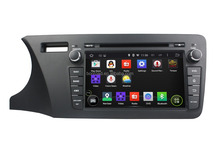 In-dash Digital Touch Screen Car Radio With Bluetooth GPS Navigation MP3/MP4 CD Player For Honda CITY