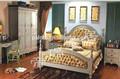 Luxo em madeira crianças mobília do quarto conjunto de cama( estofos), carrinho da noite, roupeiro, dresser mesa e cadeira