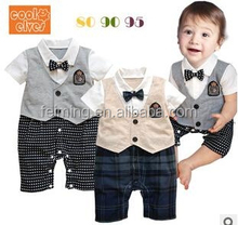 2015 wholesale comfortable little student style baby romper