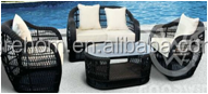 home and garden products rattan curved sofa