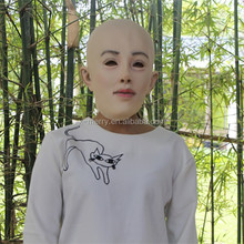 X-MERRY LATEX FEMALE FANCY CROSS DRESS MASK RUBBER DOLL FETISH HEAD WOMAN LADY MASKS