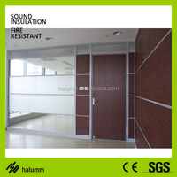 movable partition aluminium office glass divider glass partition system for bank shop restaurant